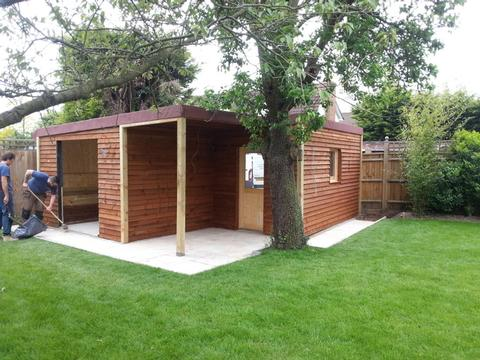 Garden rooms with our Builders in Essex